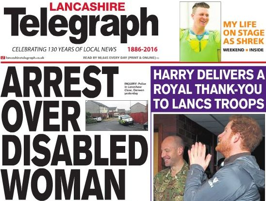 Newsquest launches free weekly title as sister to daily the Lancashire Telegraph