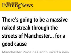 Manchester Evening News duped into publishing fake story about Gay Pride fundraising 'streak'