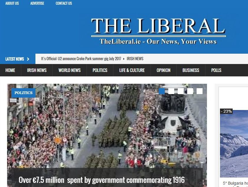 Irish news website The Liberal mired in controversy over payment for stories and report of Boxing Day 'riot' in Dublin