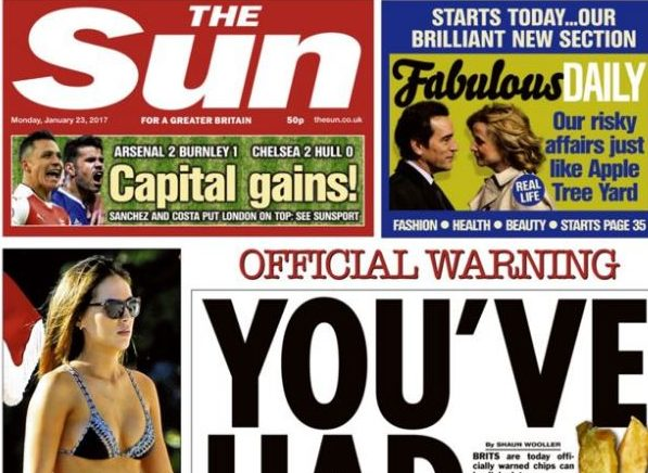 Print ABCs: Seven UK national newspapers losing print sales at more than 10 per cent year on year