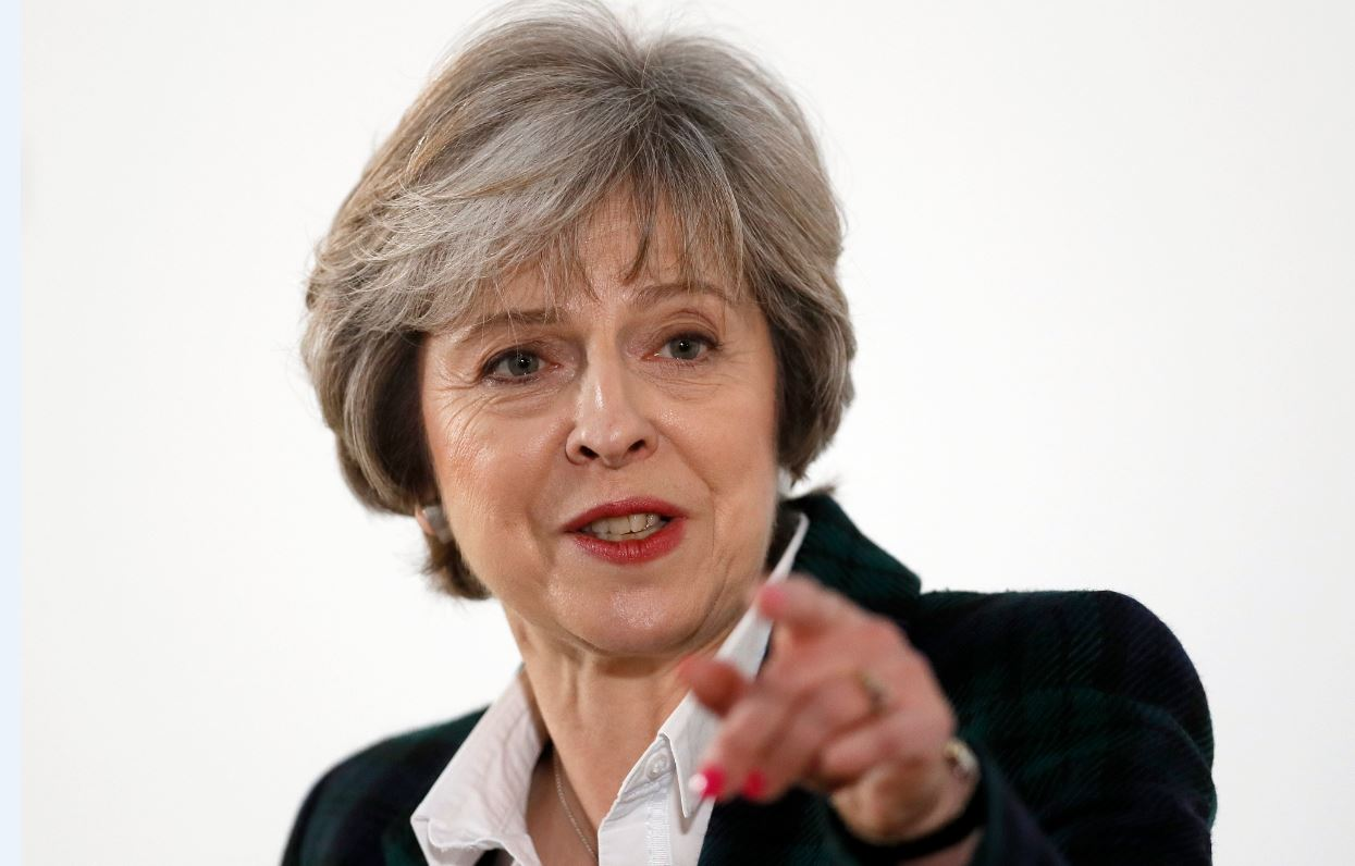 Theresa May Brexit speech: 'Every hyped up media report is going to make it harder for us to get the right deal for Britain'