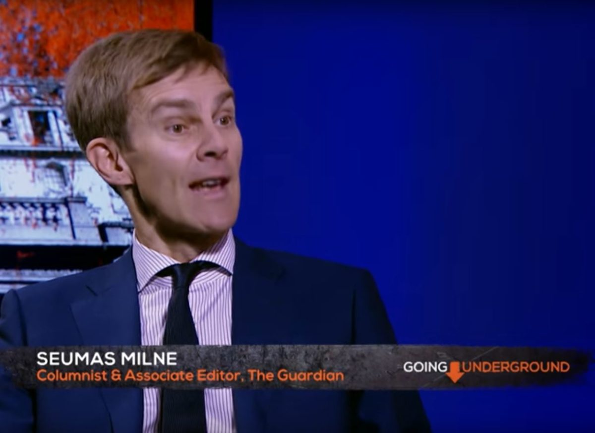 After 15 months on sabbatical, Corbyn spokesman Seumus Milne leaves Guardian associate editor role