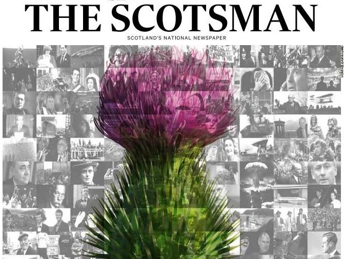 Regional ABCs: Circulation growth for Scotsman and Irish News but many record double-digit decline