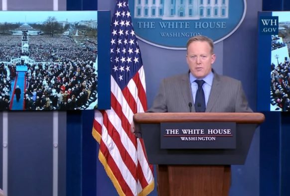BBC, Guardian and Daily Mail barred White House briefing as Trump announces fight against 'fake news'