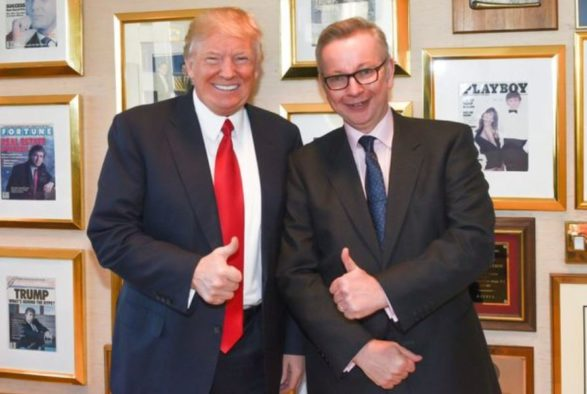 Michael Gove defends Donald Trump interview tactics after claims he failed to challenge president-elect