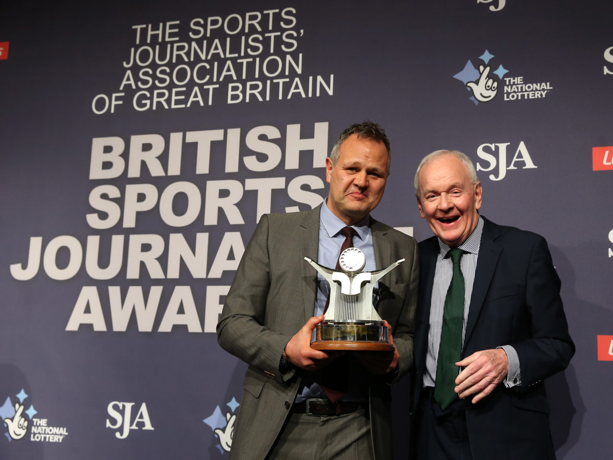 Sports Journalism Awards: Telegraph, Guardian, BBC and Getty Images among top winners