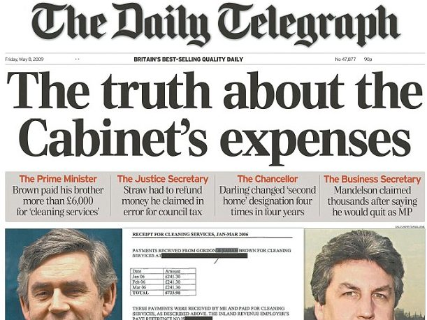 New political editors appointed at the Daily Mail and Daily Telegraph