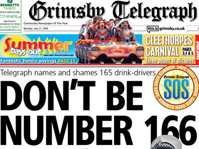 Grimsby and Scunthorpe Telegraphs left without editors - Michelle Laylor says exit 'sad end to wonderful career'