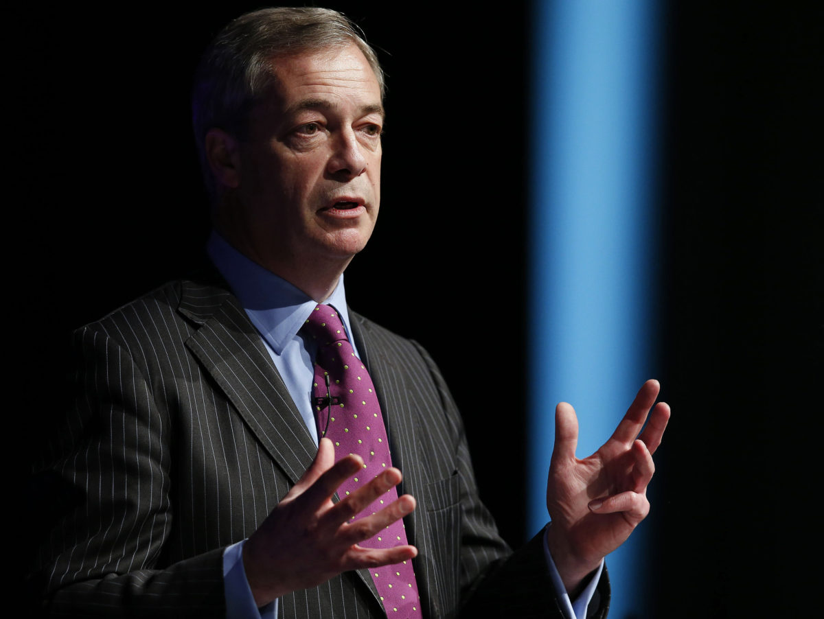 Nigel Farage: 'I'm frightened to leave my home because of way liberal media has demonised UKIP'