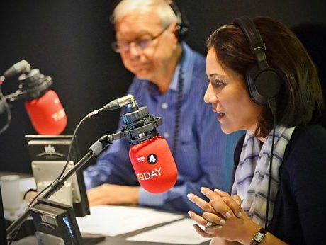 Radio audience figures: BBC's Today programme claims record 7.45m of listeners as live radio reaches 46m overall