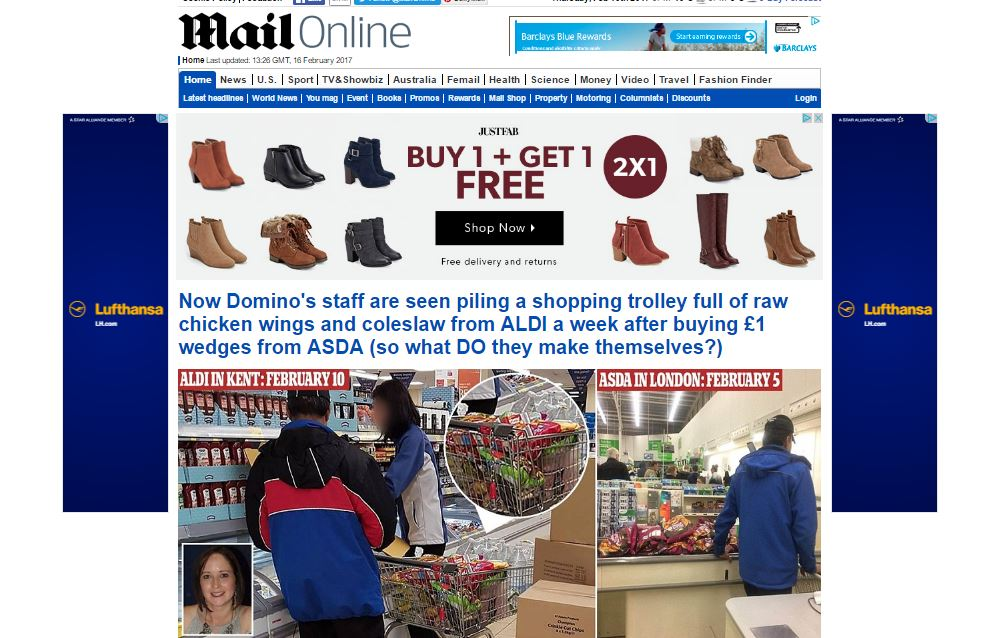 Mail Online hit new traffic record in January with 15.6m daily and 243m monthly browsers