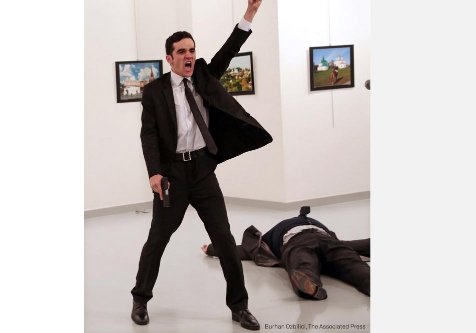 'Even if I was killed, there would still be photos' - Killing of Turkish ambassador is controversial World Press Photo winner