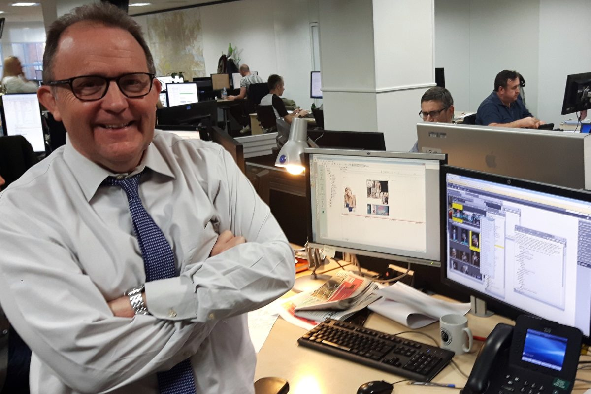 Metro editor Ted Young warns of 'lemming-like rush' to digital away from newspapers