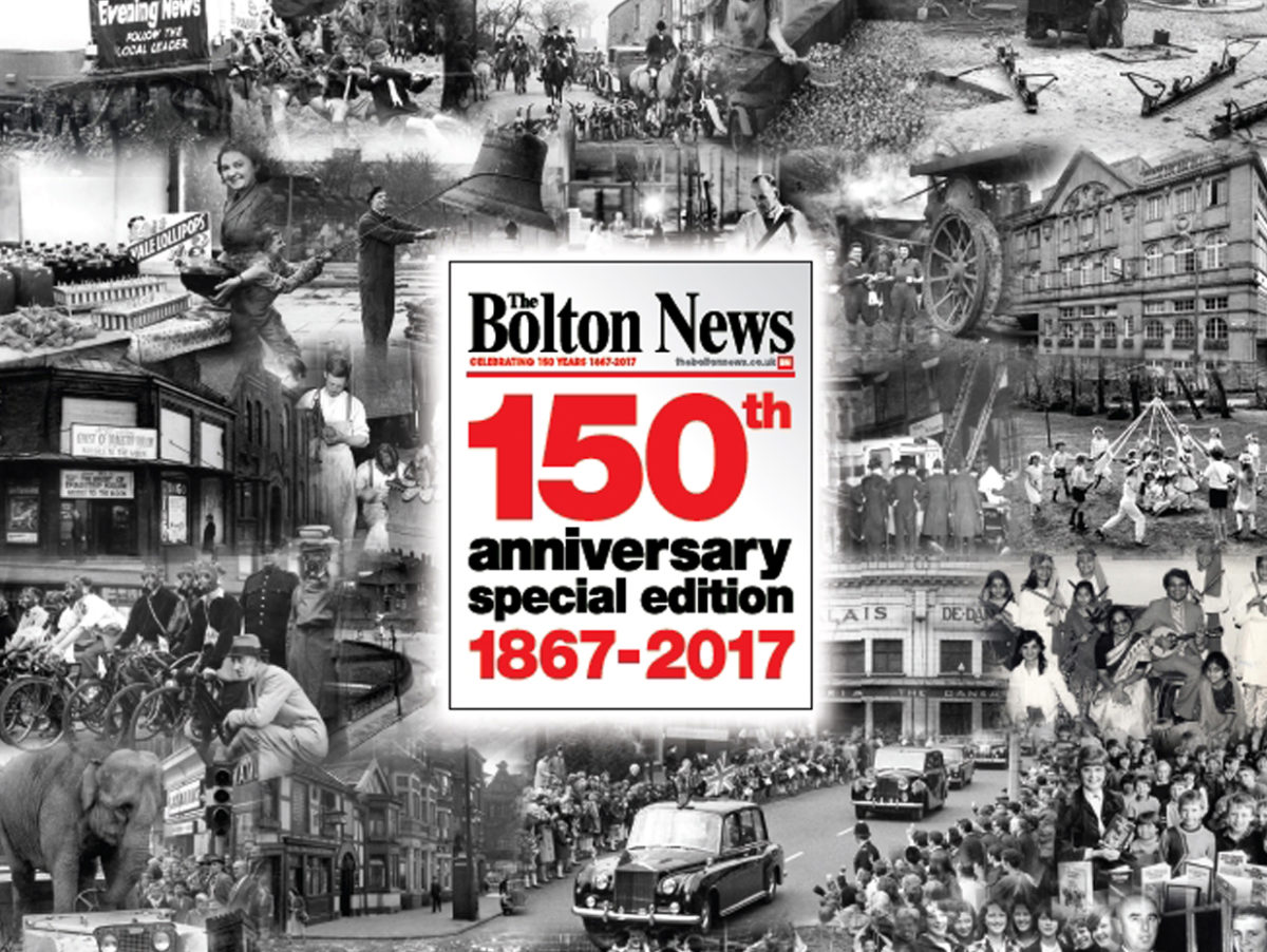 Bolton News to mark 150 years with special Sunday souvenir edition