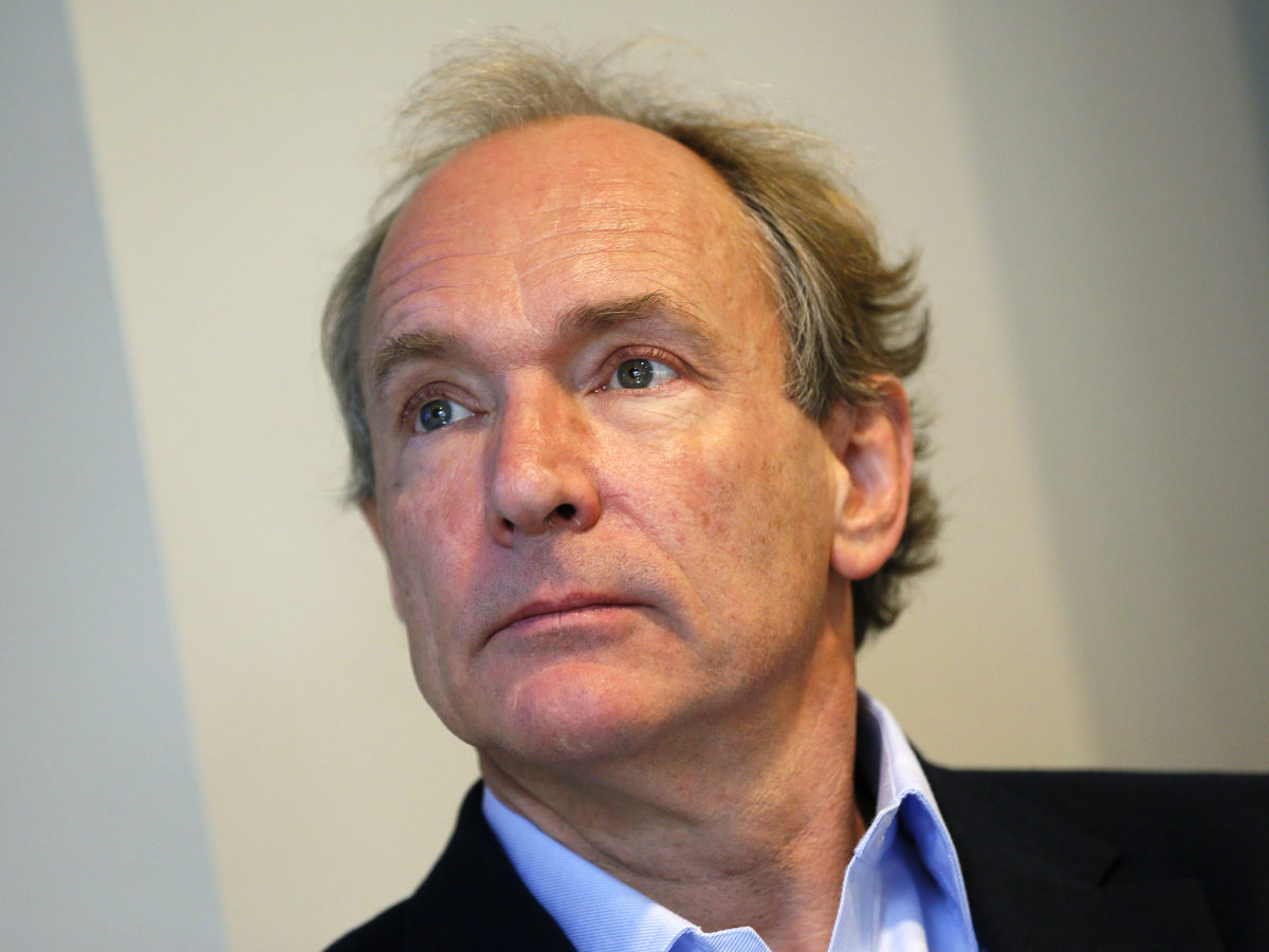 Sir Tim Berners-Lee says 'fake news' one of three challenges stopping web from serving humanity