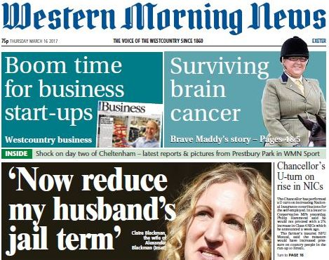 Trinity Mirror reduces Exeter Express & Echo to weekly title as it launches new Western Morning News edition for the city