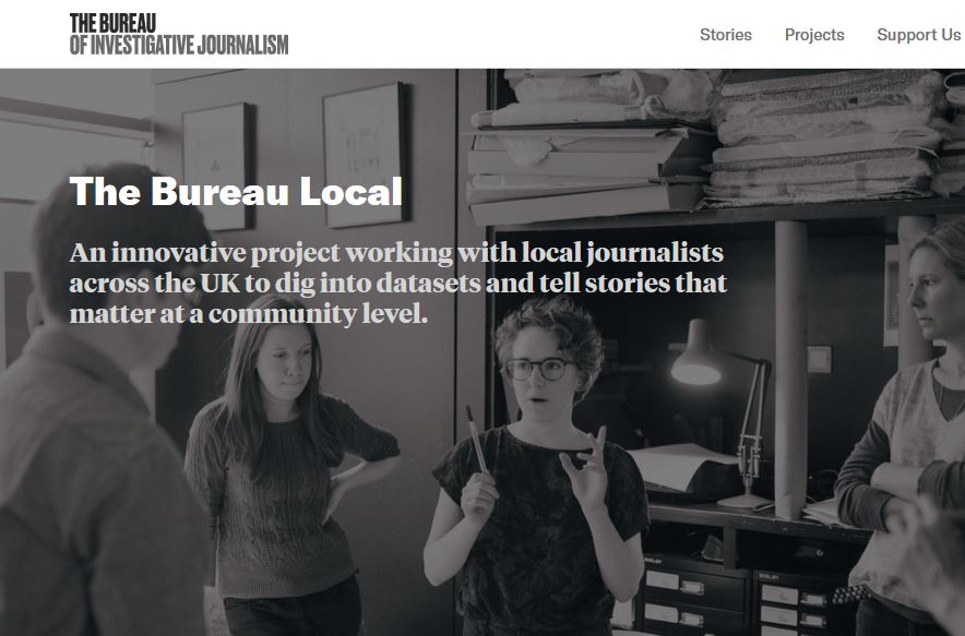 Bureau of Investigative Journalism launches two-year Google-funded project to boost regional press data investigations
