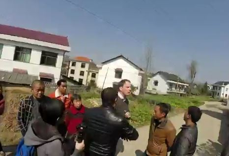 BBC crew assaulted and forced to sign 'confession' for trying to interview Chinese parliamentary petitioner