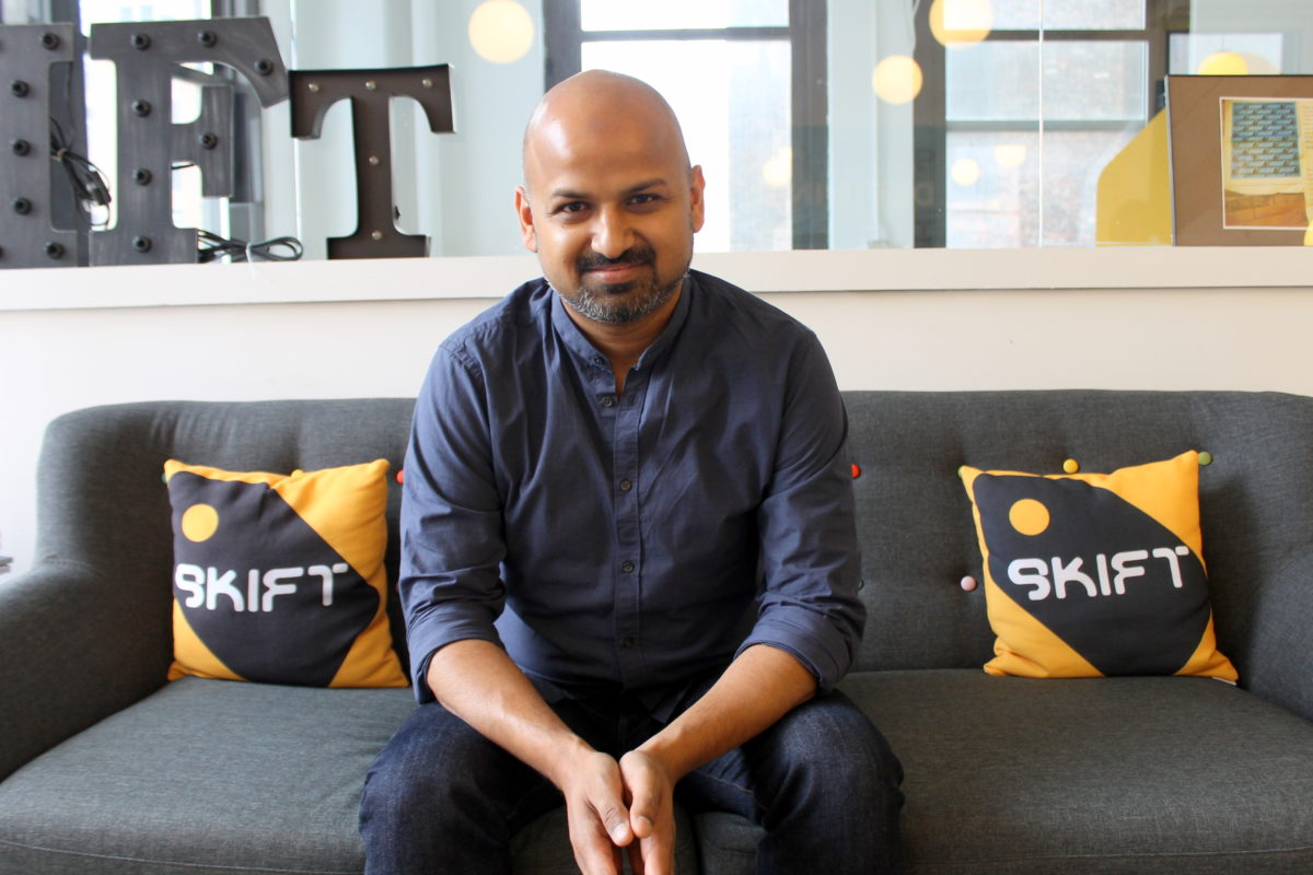 Skift founder Rafat Ali on why he regrets selling Paidcontent to The Guardian and opportunities in business media