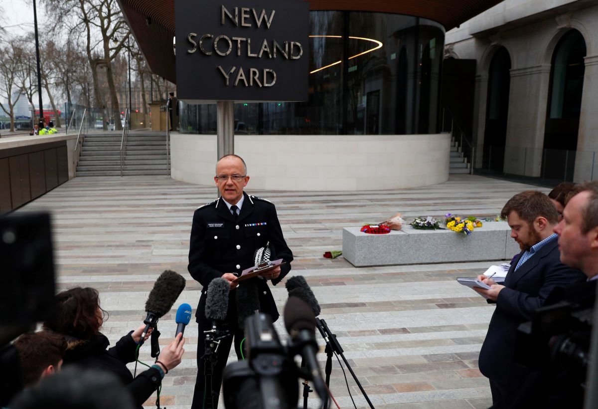Met Police thanks journalists who knew name of Westminster terrorist but refrained from publishing