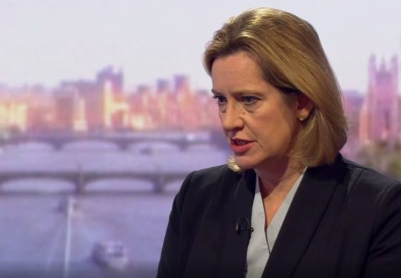 Amber Rudd: Google and Facebook have to realise that they are publishing companies