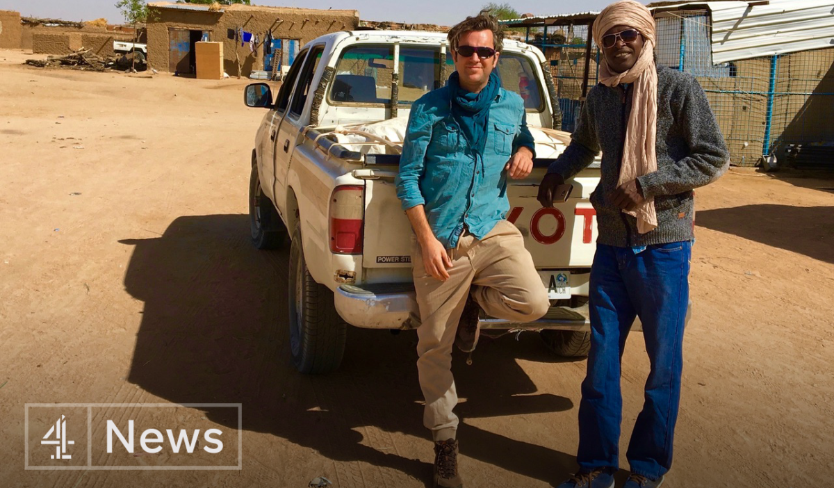 Channel 4 News pair in Sudan 'captured, beaten and tortured simply for being journalists'
