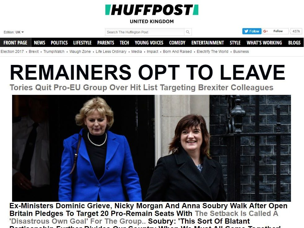 The Huffington Post rebrands to HuffPost with new logo and website redesign