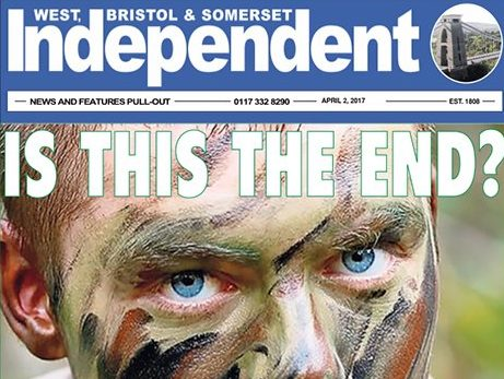 Cornwall's Sunday Independent closes after 200 years in print with 20 journalism jobs to go