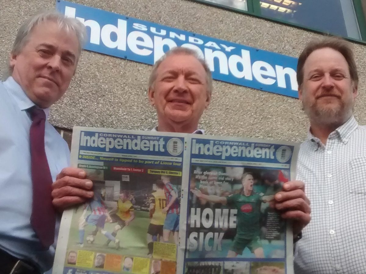 New Sunday Independent owner expands reach with takeover of 11 West Country titles