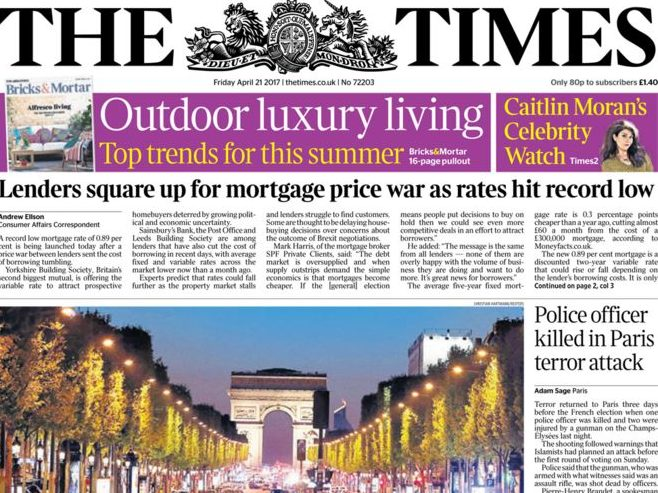 Times apology letter enough to remedy IPSO complaint over claims its journalist intruded into man's grief