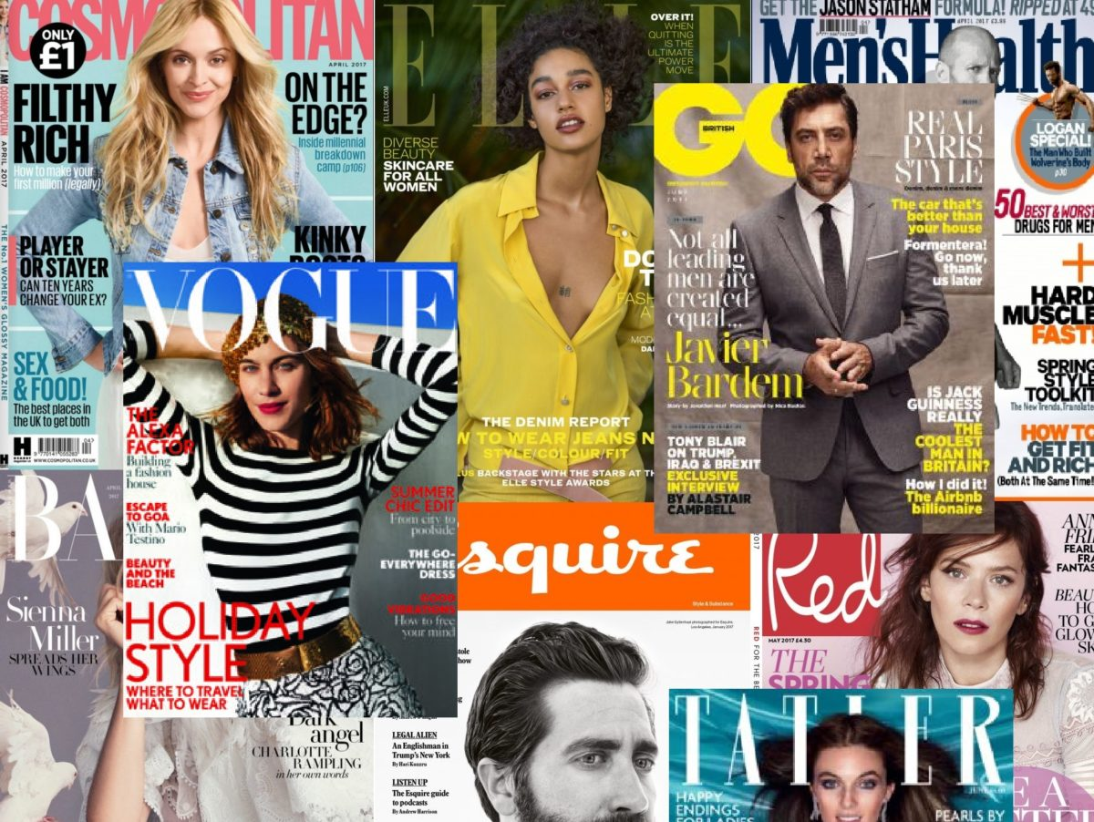 Magazine ABCs: Full breakdown of UK magazine sales figures for first half 2017