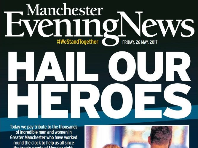 Journalists from around the UK volunteer to provide relief cover for Manchester Evening News