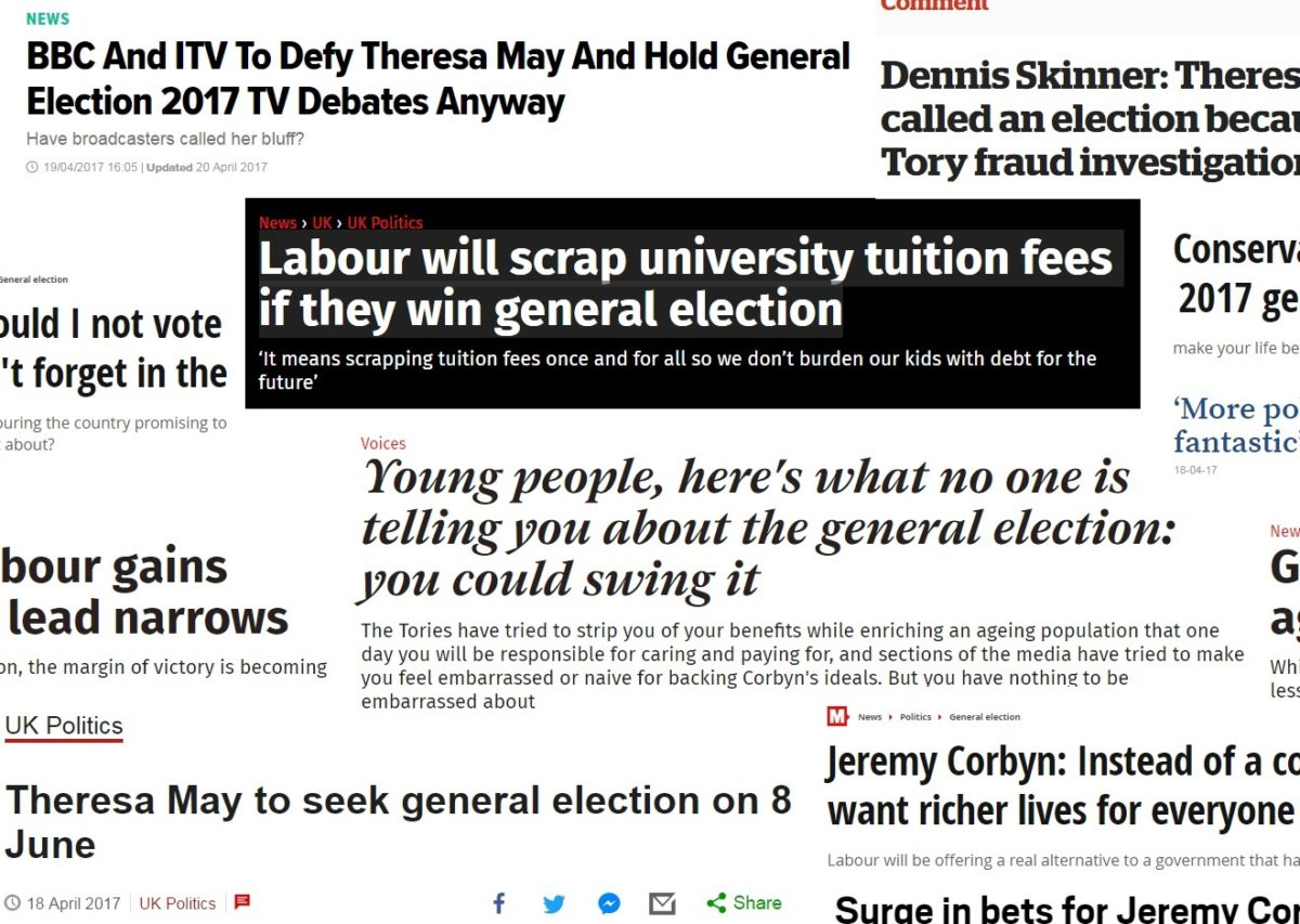 Most-shared general election stories on social media overwhelmingly anti-Tory with no sign yet of fake news