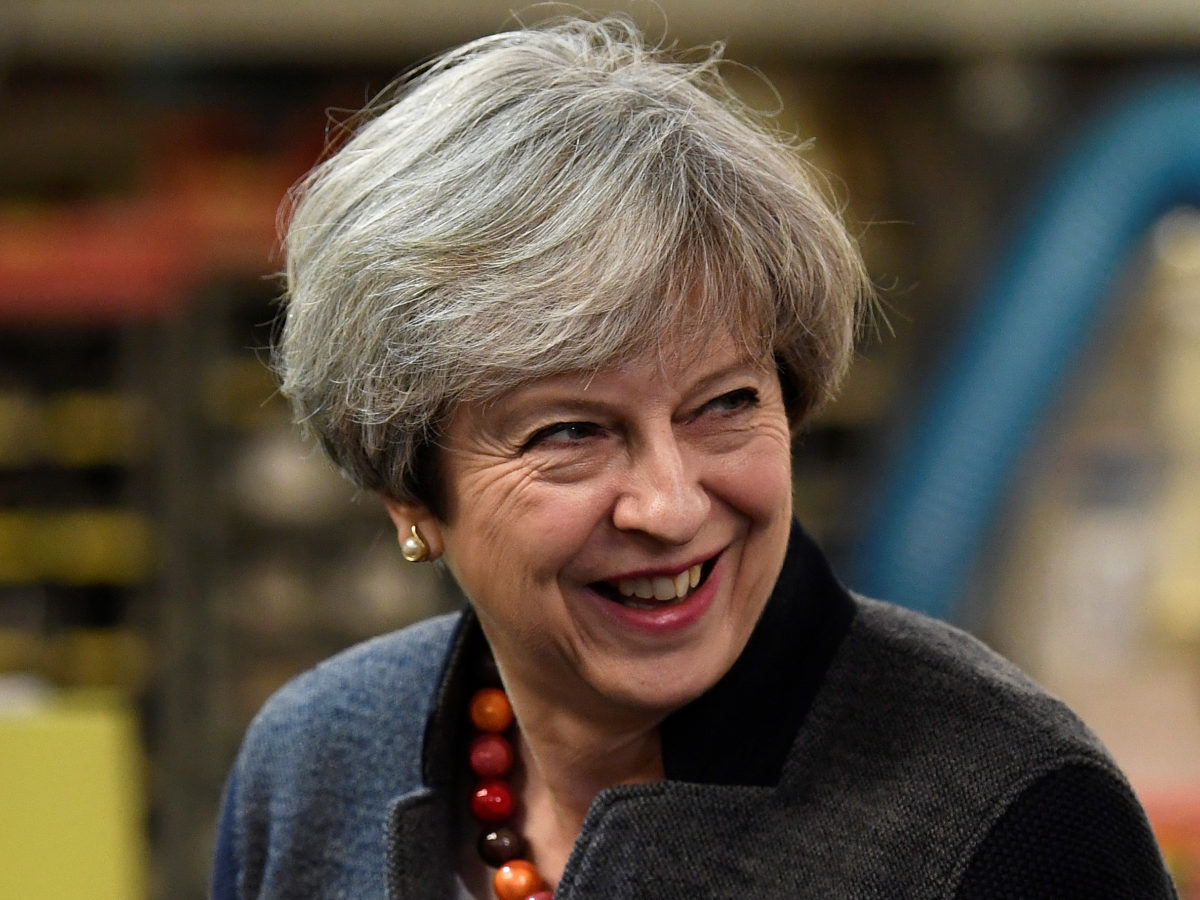 Local reporters 'shut in a room' during Theresa May visit to Cornish industrial estate
