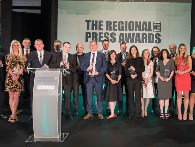 Awards Press  >> Shortlist Announced For The Regional Press Awards Covering Best In