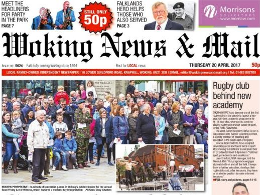 Woking weekly written off by Guardian Media Group proves there is life after corporate ownership