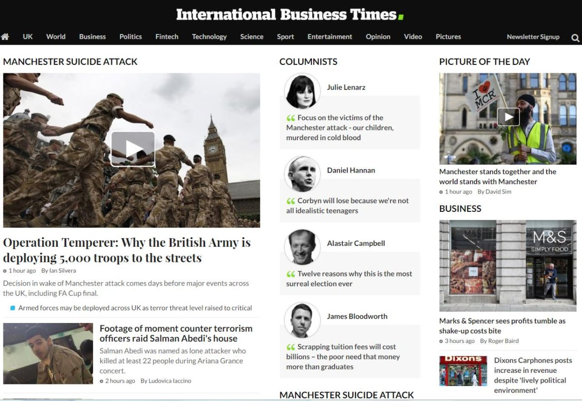 Seven journalists made redundant at International Business Times following move to new 'global structure'