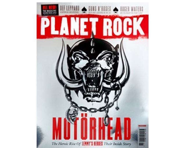 Bauer bets on enduring strength of print and power chords with launch of Planet Rock