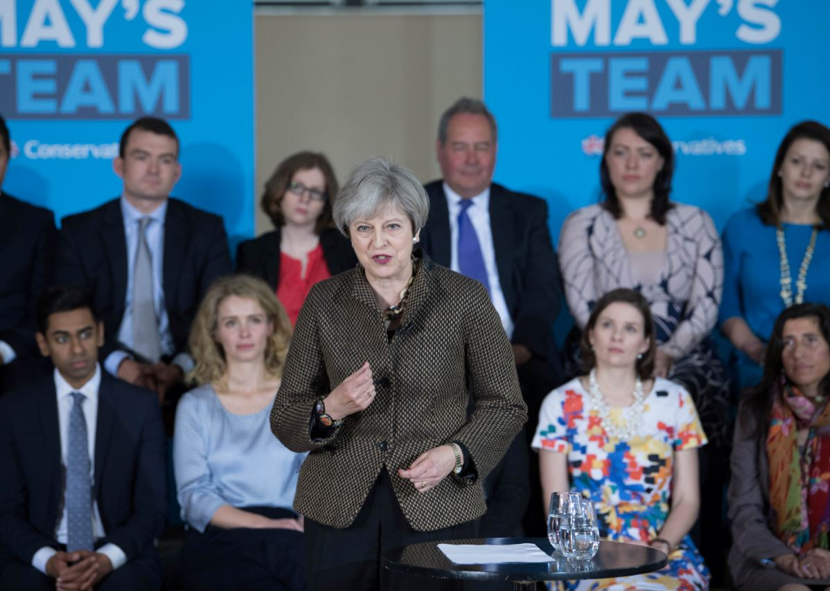 Political journalists complain about level of PR control at Theresa May campaign events