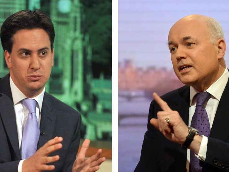 Ed Miliband and Iain Duncan Smith set to guest present BBC radio's Jeremy Vine show