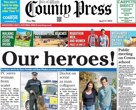 Newsquest asks for voluntary redundancies at Isle of Wight County Press four months after takeover