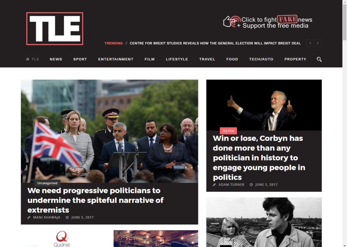 Alternative news website The London Economic sees traffic boom with pro-Corbyn coverage