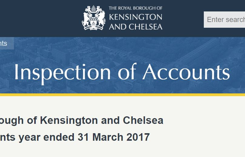 New law allows any journalist to inspect council accounts - including Kensington and Chelsea's which are available now