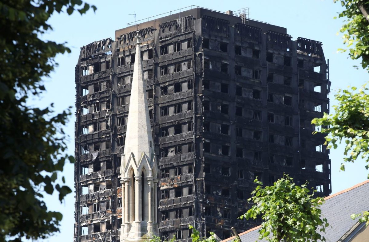 Daily Mail owner donates £100,000 to help Grenfell Tower fire victims