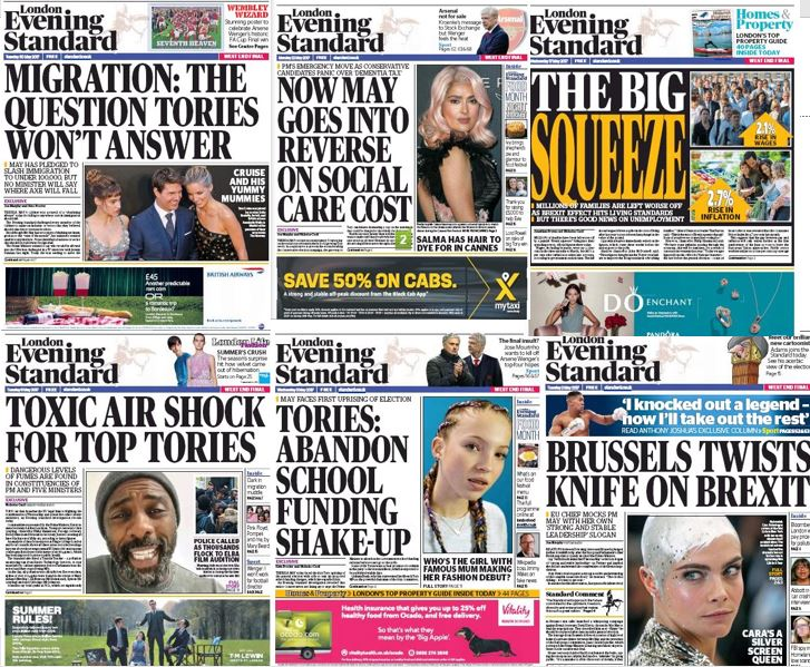 George Osborne has given the Tories a harder time than Labour in his first month as Evening Standard editor