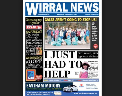 Trinity Mirror to close Wirral News in July in the wake of council newspaper launch