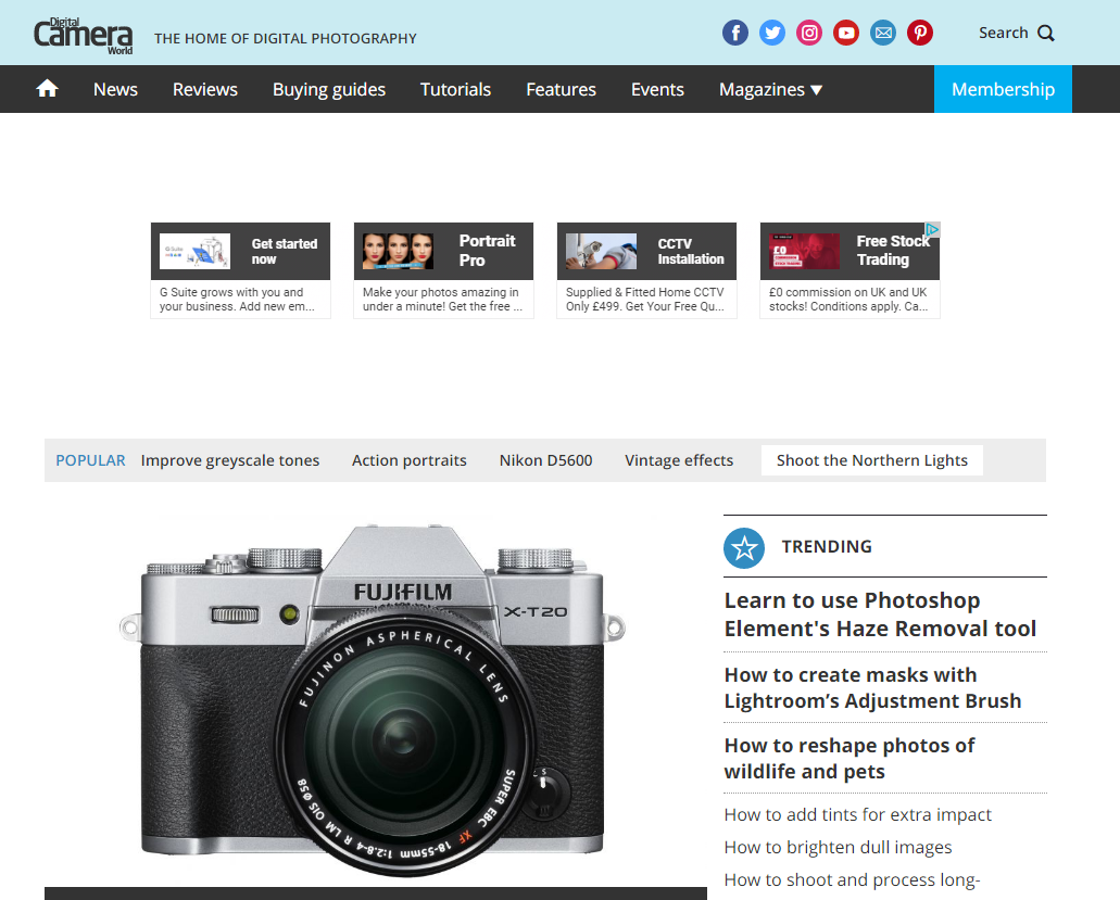 Future launches new photography website DigitalCameraWorld.com