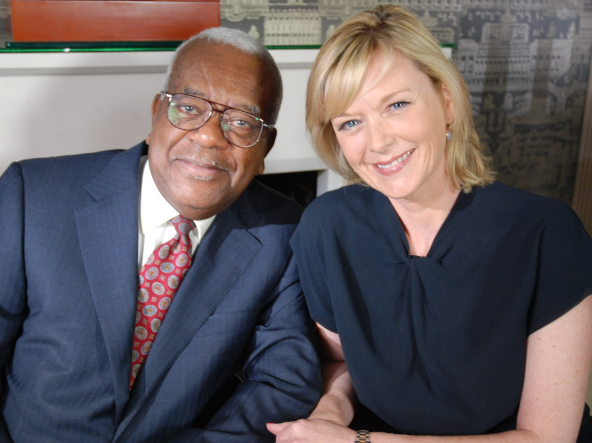 Happy 'big' birthdays to Sir Trevor McDonald and Julie Etchingham - 'two of the very best in the business'