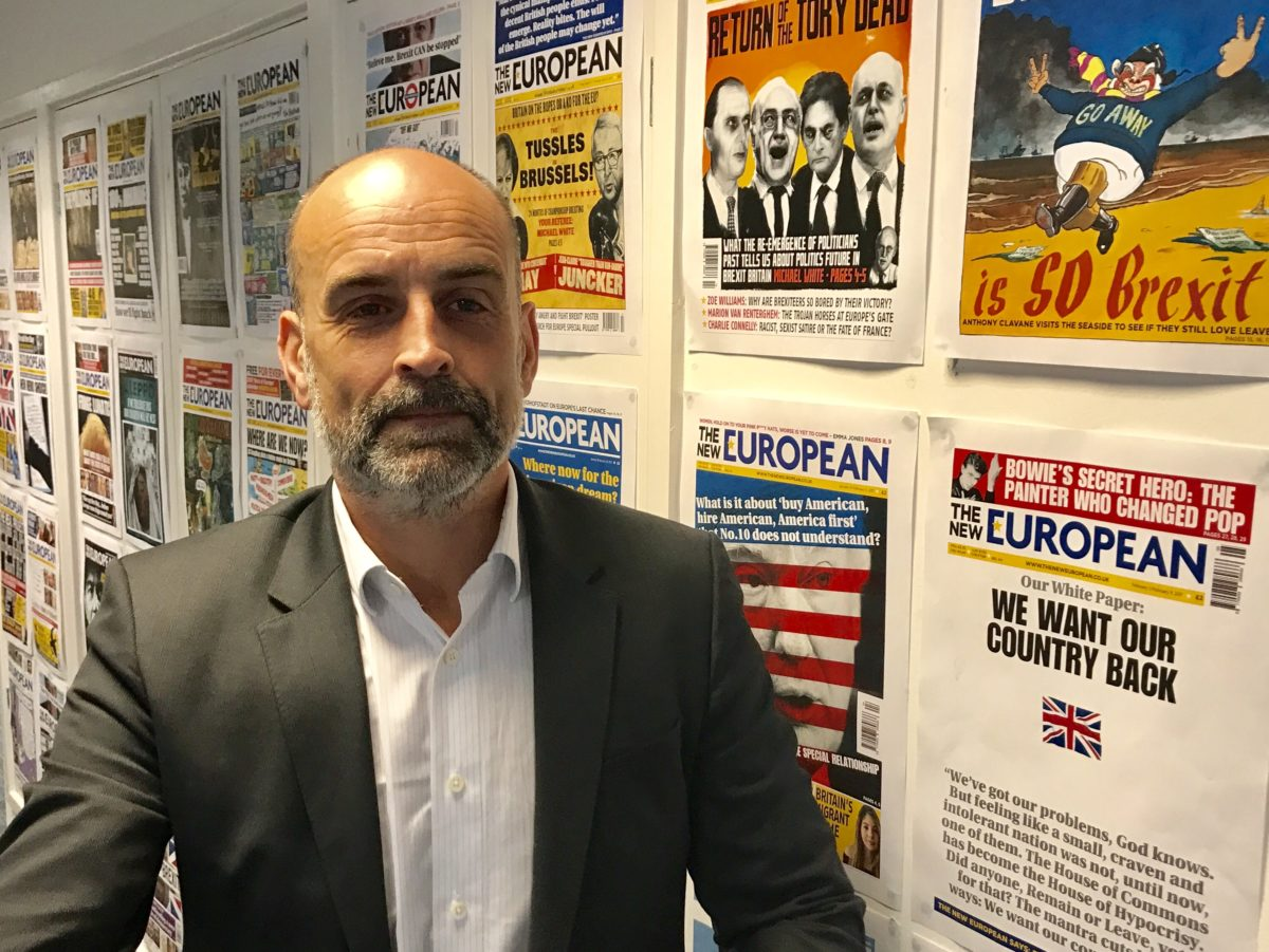 The New European bought by founder and Archant content boss Matt Kelly
