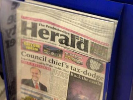 Weekly Pembrokeshire Herald saved by 'eleventh-hour' investment